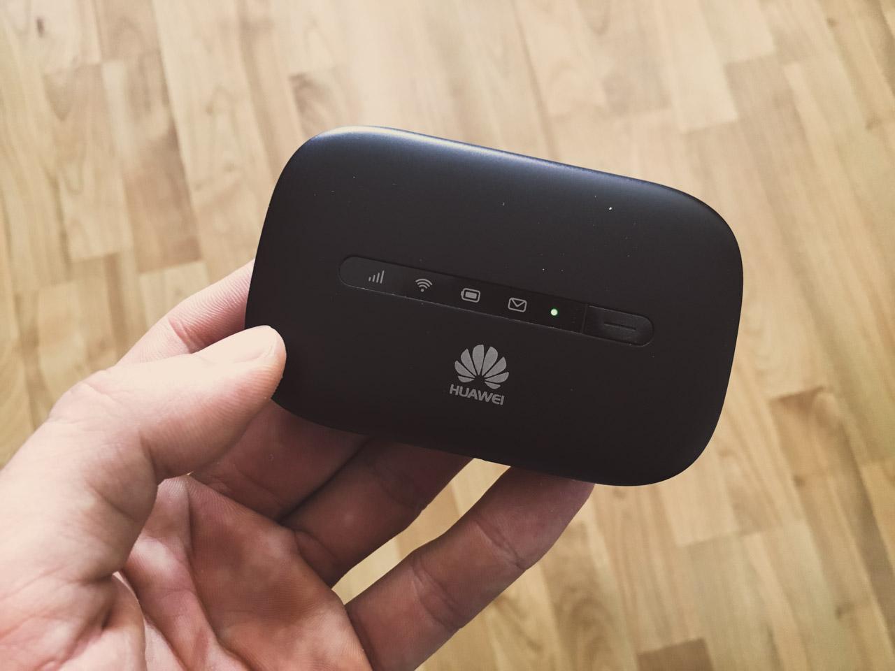 Mobiler Router mit Simkarte: Erfahrungen mit dem Huawei E5330