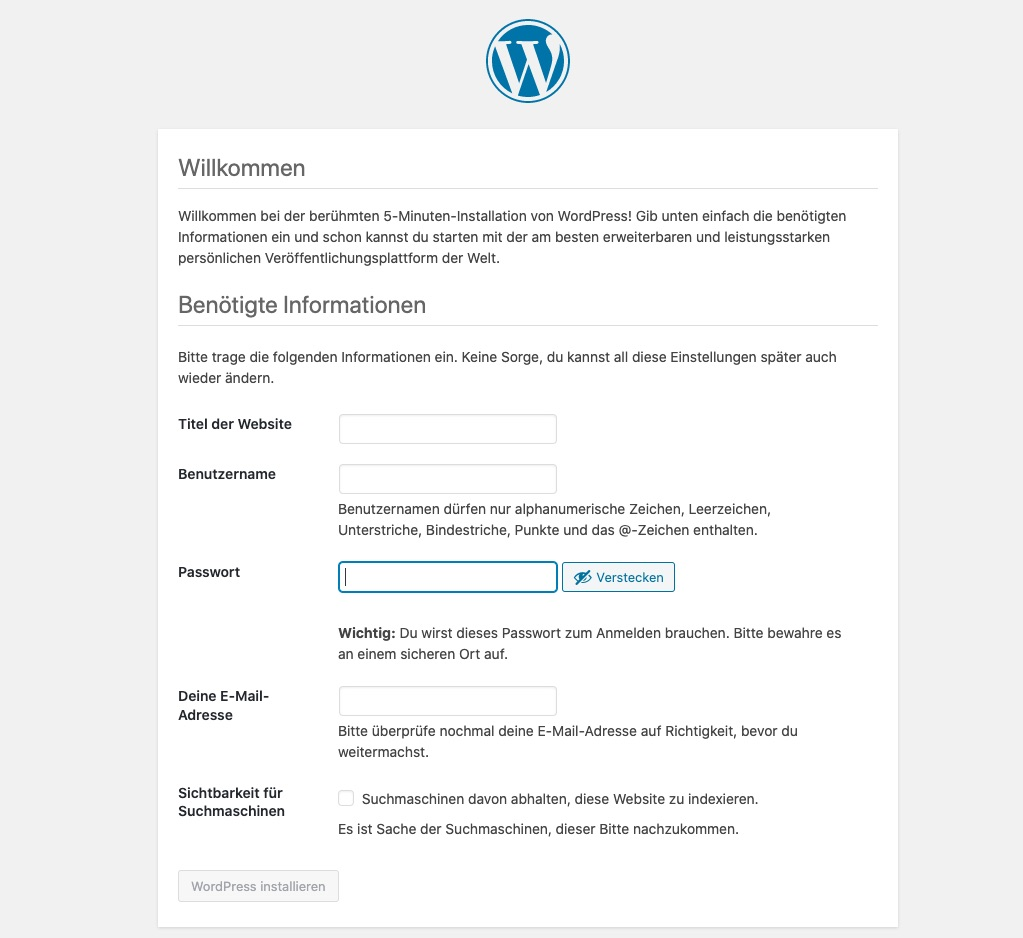 wordpress-installation-ionos-ftp-wordpress-5-minuten-installation