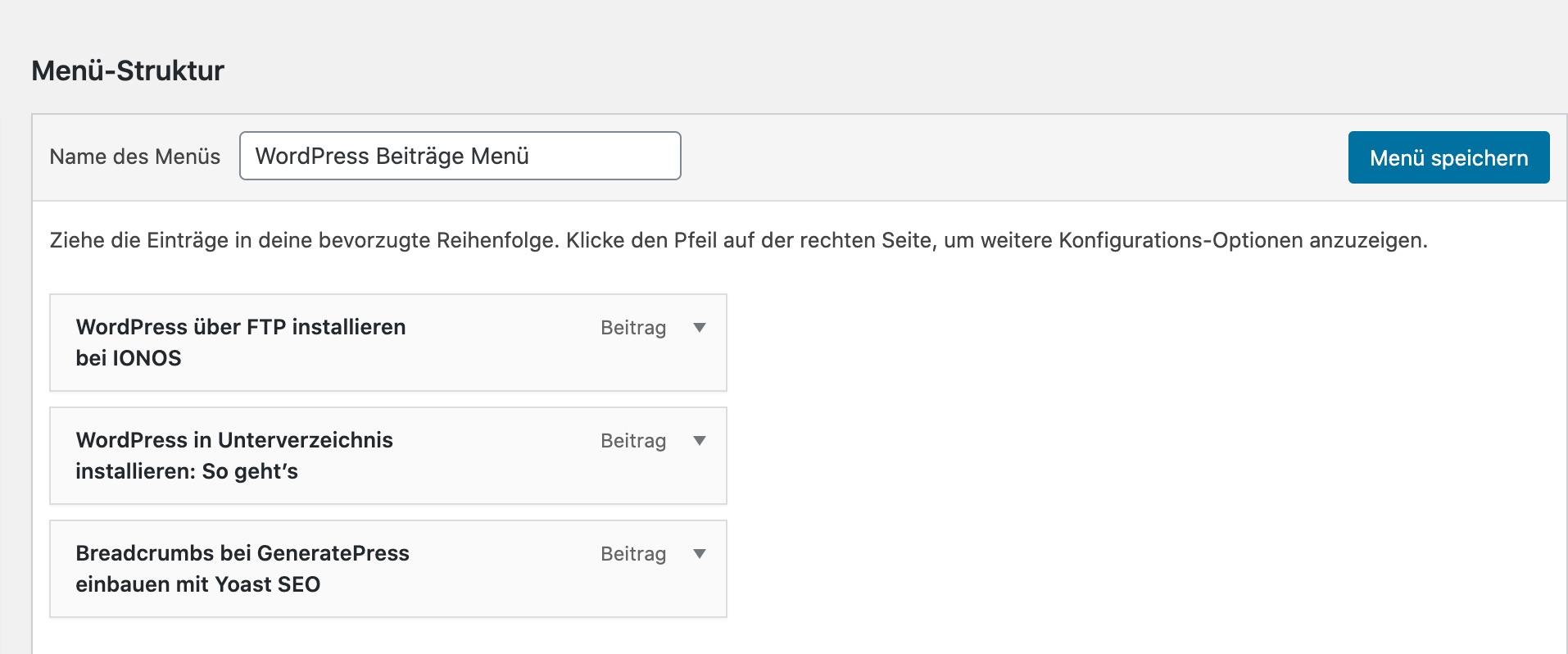 wordpress-menu-in beitrag