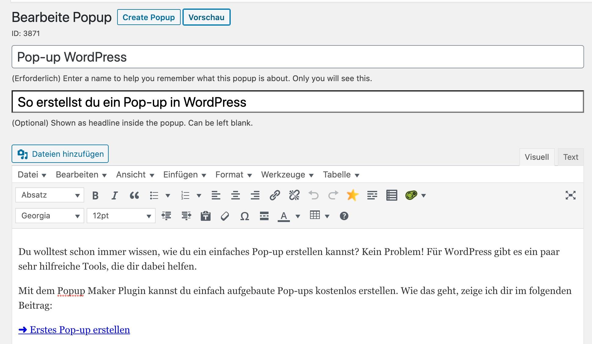 popup-erstellen-beispiel-wordpress
