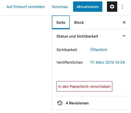 revisionen-in-wordpress-gutenberg-editor